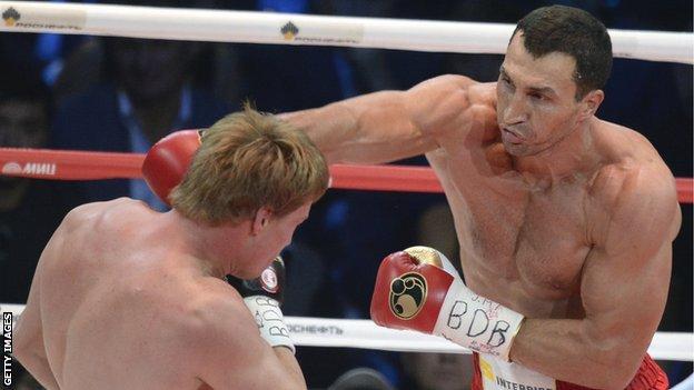 Wladimir Klitschko beat Alexander Povetkin on points