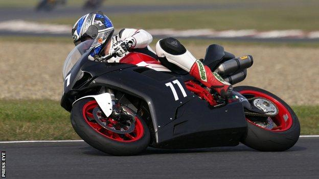Marty Nutt has clinched the Ducati Challenge Championship
