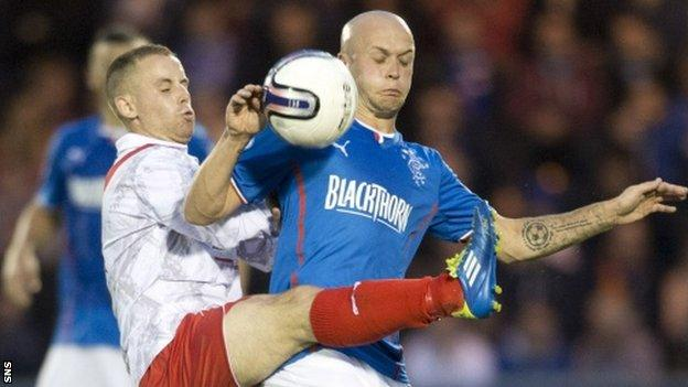 Airdrieonians have already lost 6-0 to Rangers
