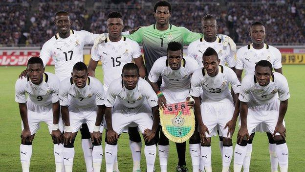 The Ghana football team