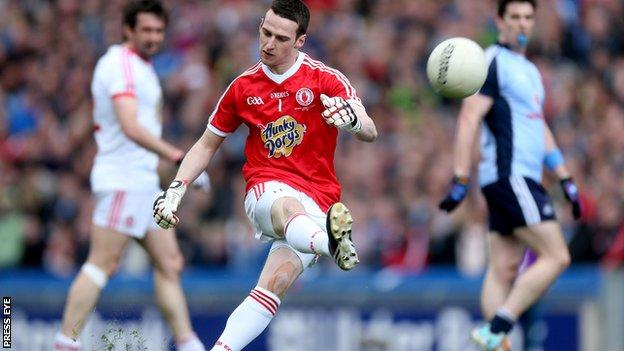 Tyrone goalkeeper Niall Morgan gets surprise call-up to Ireland squad
