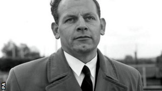 Former England manager Walter Winterbottom