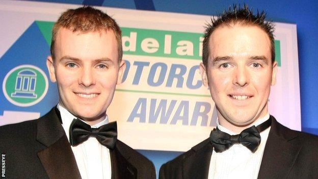 Stuart Easton and Alastair Seeley