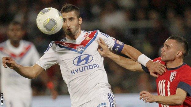 Lille's France international Marvin Martin