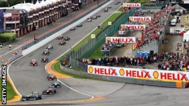 The 2013 Belgian Grand Prix at Spa Francorhamps