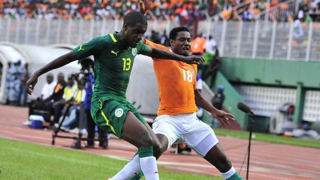 Ivory Coast v Senegal