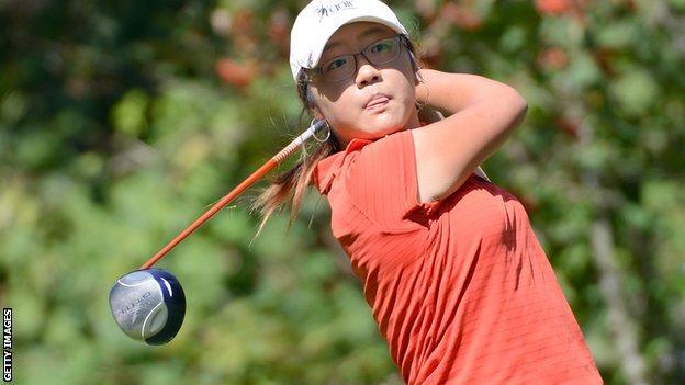 New Zealand golfer Lydia Ko