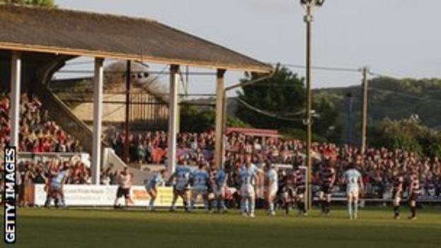 Cornish Pirates' Mennaye Field ground