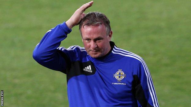 Northern Ireland manager Michael O'Neill