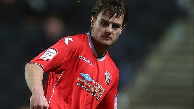 Walsall left-back Andy Taylor