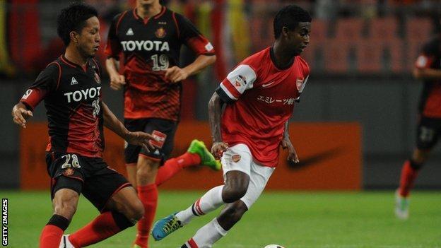 Gedion Zelalem (right)