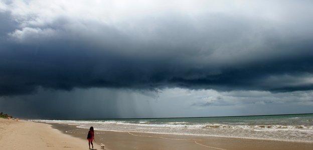 Weather in Recife beach