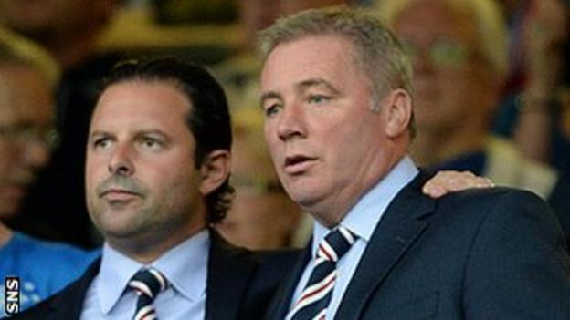 Craig Mather and Ally McCoist