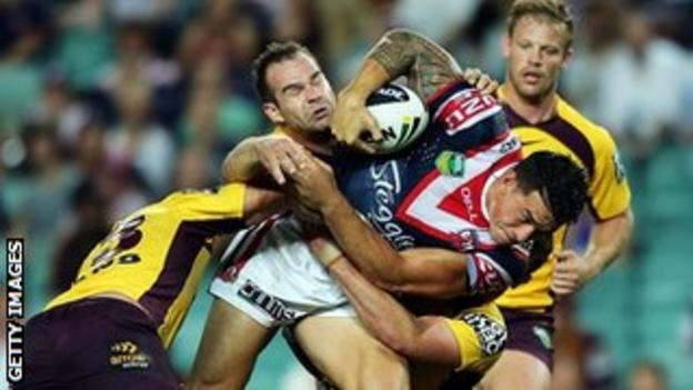 Sonny Bill Williams helped Sydney Roosters win the NRL Grand Final