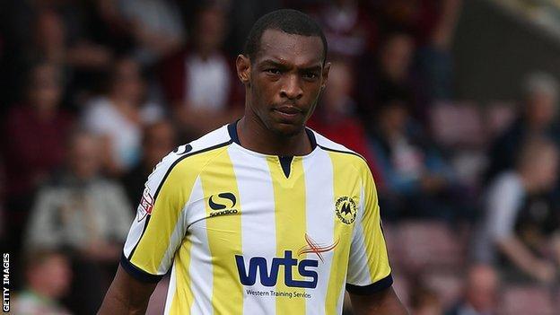 Torquay United defender Krystian Pearce