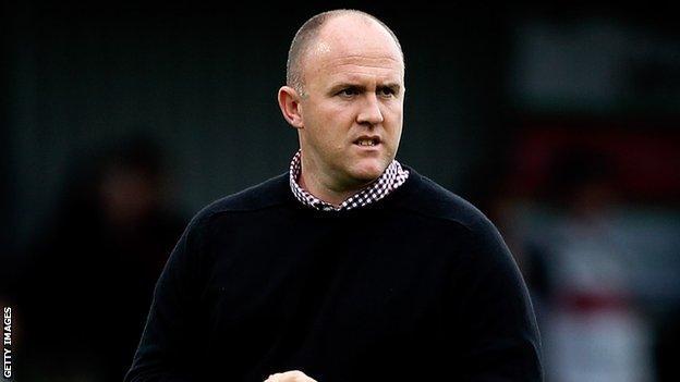 Cornish Pirates head coach Ian Davies