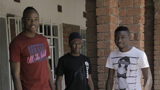 Stoppila Sunzu, Rainford Kalaba and Nathan Sinkala