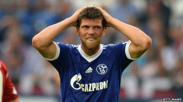 Klaas-Jan Huntelaar will miss up to four months through injury