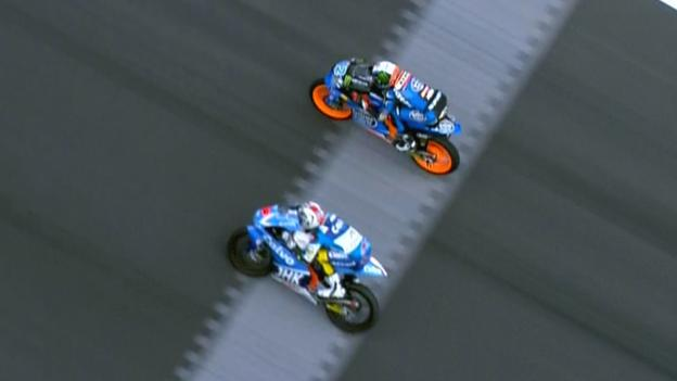 Moto3: Photo finish in thrilling Australian Grand Prix - BBC Sport