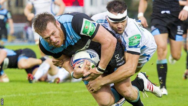 Glasgow Warriors, Tyrone Holmes