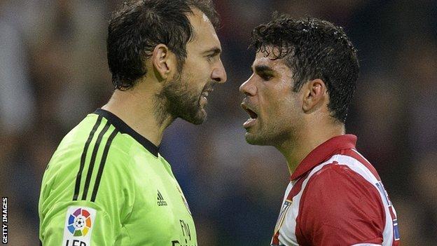 Diego Costa (right)