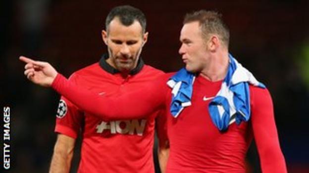 Wayne Rooney Ryan Giggs