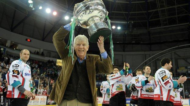 Former Belfast Giants owner Jim Gillespie inducted into Hall of Fame