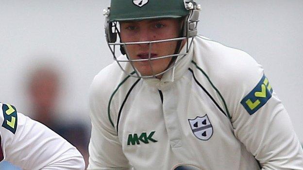 Worcestershire wicketkeeper