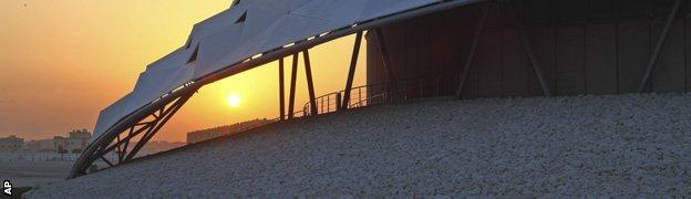 Football stadium in Qatar