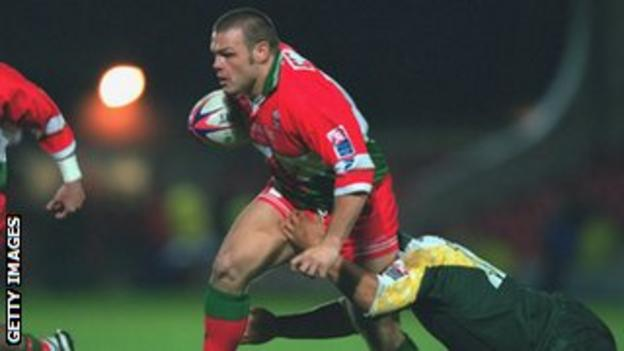 Hooker Keiron Cunningham was one of the mainstays of Wales' 2000 World Cup squad