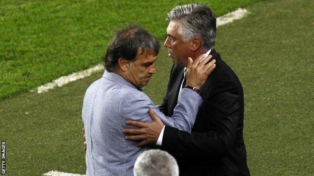 Gerardo Martino and Carlo Ancelotti