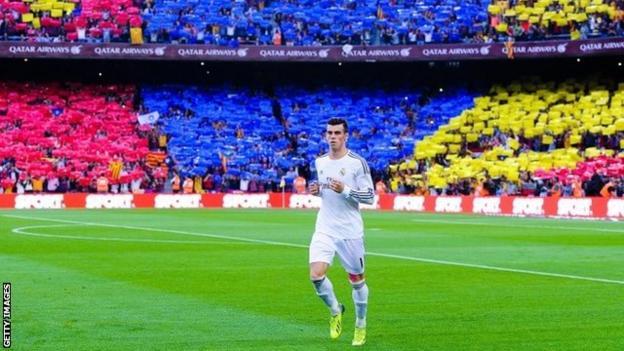 Real Madrid forward Gareth Bale
