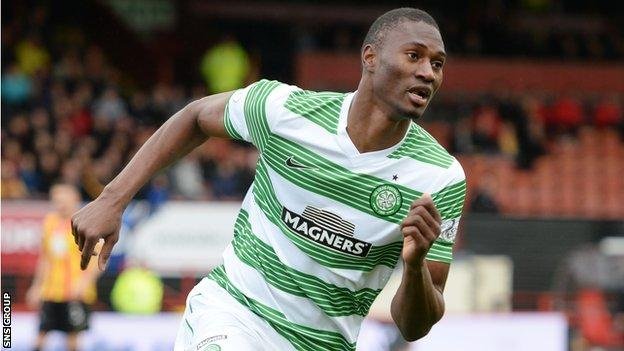Celtic striker Amido Balde