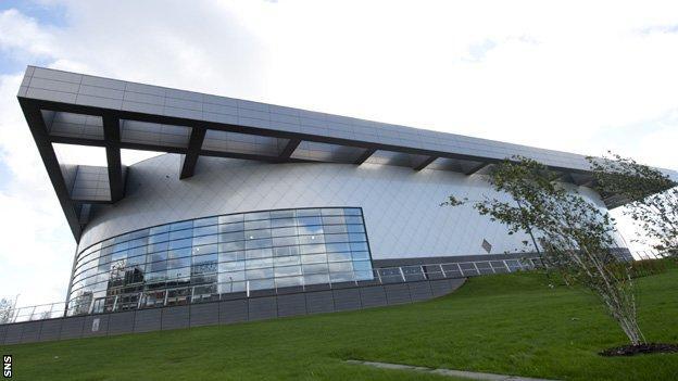 The Sir Chris Hoy Velodrome in Glasgow