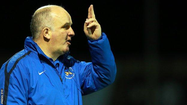 Ballinamallard boss Whitey Anderson is hit with three-match ban