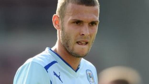 Coventry City midfielder Billy Daniels