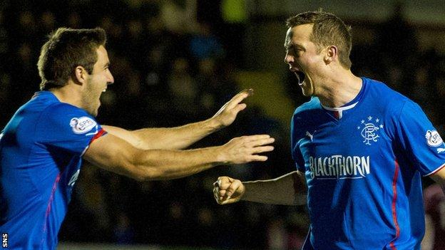 Andy Little and Jon Daly celebrate