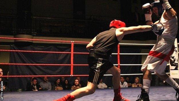 White-collar boxing