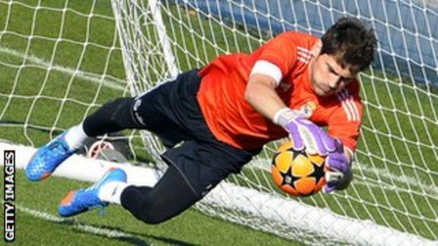 Barcelona could make a shock move for Real Madrid goalkeeper Iker Casillas