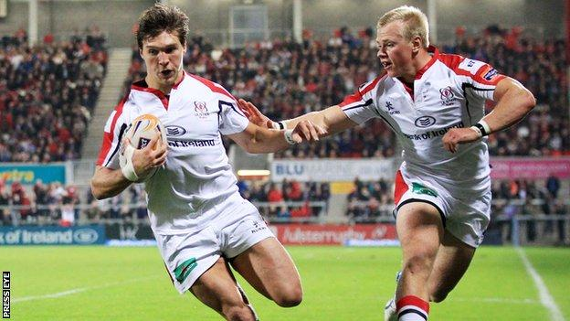 Michael Allen has made an impressive start to the season for Ulster