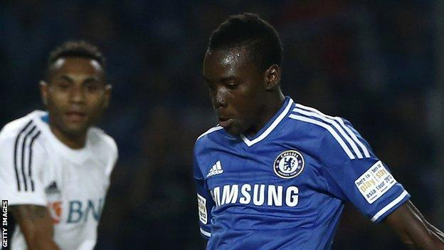Traore is the second Chelsea player heading to Vitesse for the new season