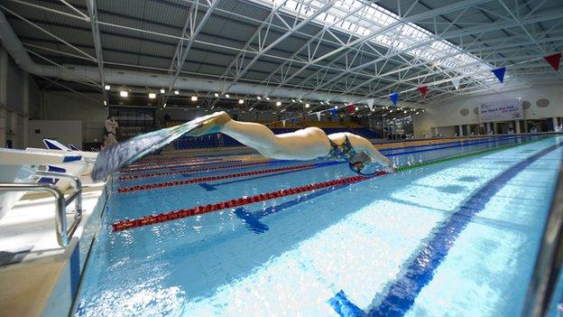 Tollcross Swimming Pool in Glasgow