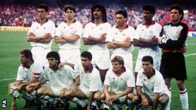AC Milan win the 1989 European Cup