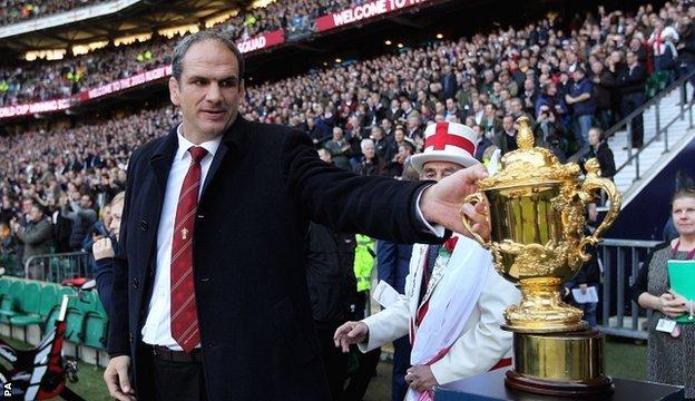 England's 2003 captain Martin Johnson