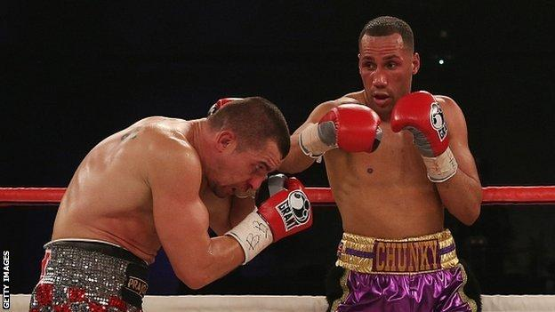 Stjepan Bozic and James DeGale