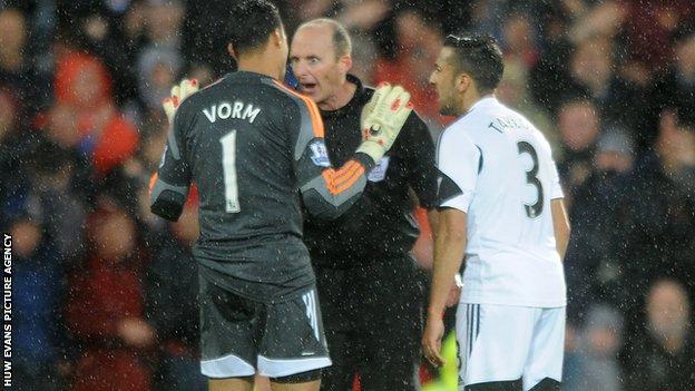 Swansea's Michel Vorm
