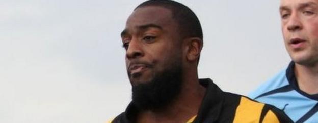 Southport striker Nathan Ellington