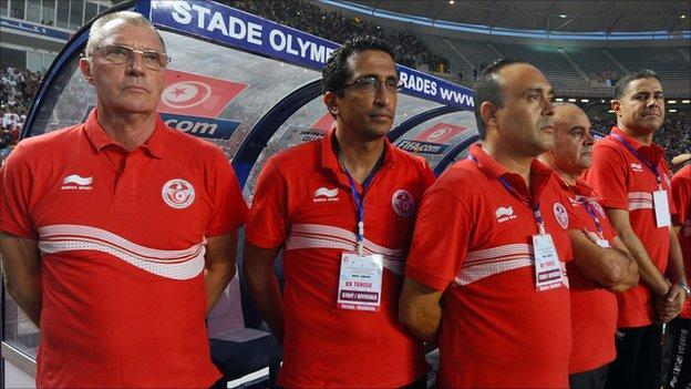Tunisia bench