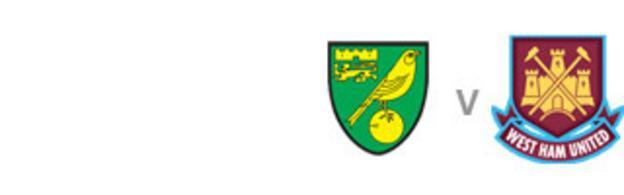 Norwich v West Ham