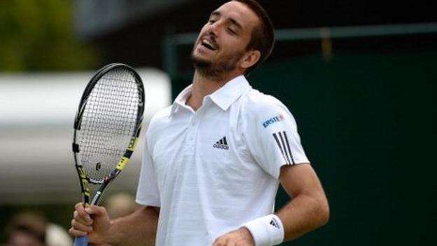 Viktor Troicki at Wimbledon
